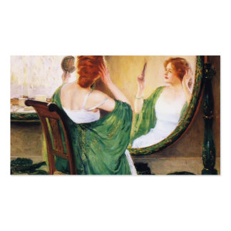 Guy Rose- The Green Mirror Business Card