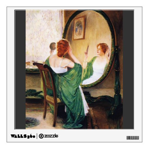 Guy Rose- The Green Mirror Room Decals