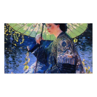 Guy Rose- The Green Parasol Business Cards