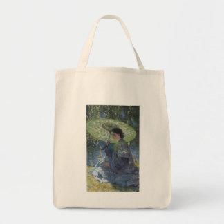 Guy Rose: The Green Parasol Tote Bag