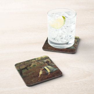 Guy Rose- The Potato Gatherers Drink Coasters