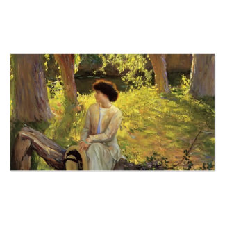 Guy Rose- Warm Afternoon Business Card
