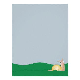Guy Snailey (In the Grass) Letterhead