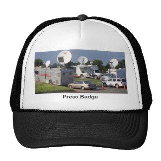 Guy Tie Journalist Cap Trucker Hat