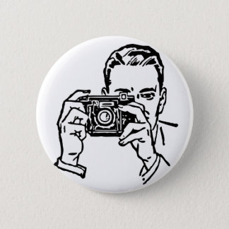 Guy with Camera Button. Button