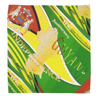 Guyana, 50.o pañuelo feliz del aniversario bandana