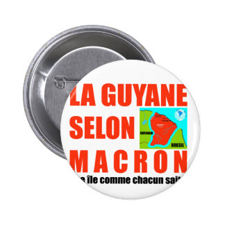 Guyana according to Macron is an island Button