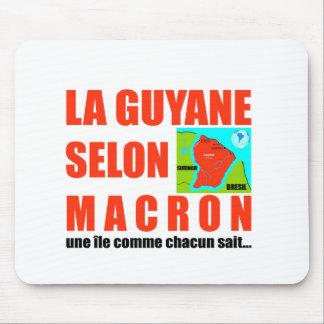 Guyana according to Macron is an island Mouse Pad