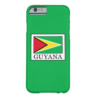 Guyana Barely There iPhone 6 Case