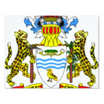 Guyana coat of arms announcement