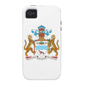 Guyana Coat of Arms Case-Mate iPhone 4 Cases