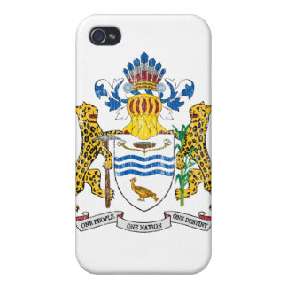 Guyana Coat Of Arms Cases For iPhone 4