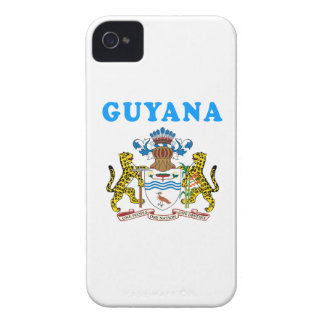 Guyana Coat Of Arms Designs Case-Mate iPhone 4 Case