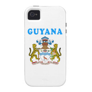 Guyana Coat Of Arms Designs iPhone 4/4S Covers
