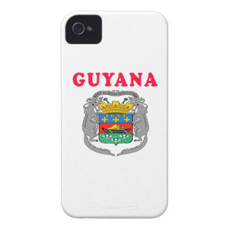 Guyana Coat Of Arms Designs iPhone 4 Cover