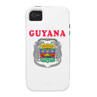 Guyana Coat Of Arms Designs Vibe iPhone 4 Covers