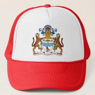 Guyana Coat of Arms detail Trucker Hat