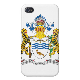 Guyana Coat Of Arms iPhone 4/4S Case