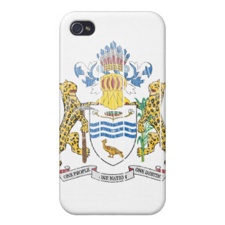 Guyana Coat Of Arms iPhone 4/4S Covers
