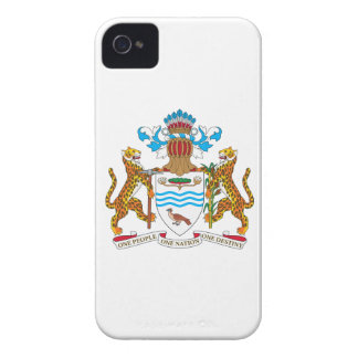Guyana Coat of Arms iPhone 4 Cases