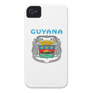 Guyana Coat Of Arms iPhone 4 Covers