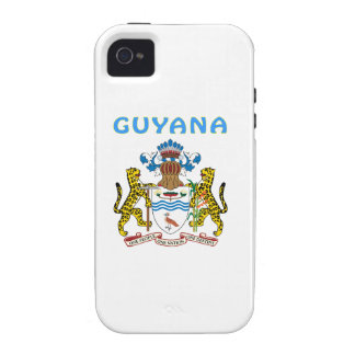 Guyana Coat Of Arms Vibe iPhone 4 Case