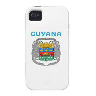 Guyana Coat Of Arms Vibe iPhone 4 Cover