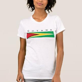guyana country flag nation symbol long T-Shirt