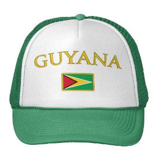 Guyana de oro gorro de camionero