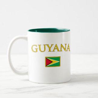 Guyana de oro taza dos tonos