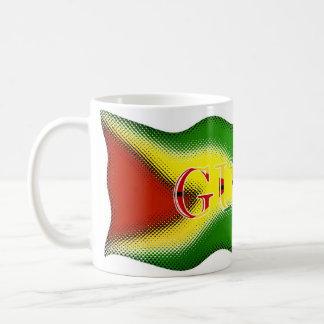 Guyana Digital Art_Mug_2 Classic White Coffee Mug