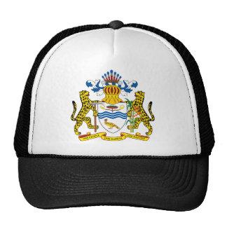 guyana emblem trucker hat