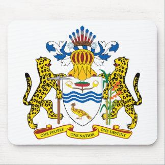 guyana emblem mouse pad