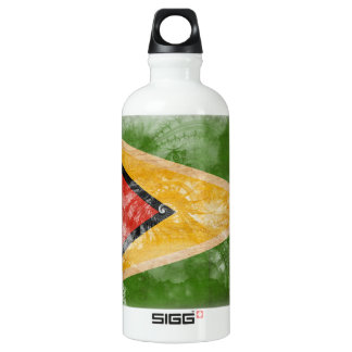 Guyana Flag Aluminum Water Bottle