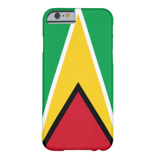 Guyana Flag Barely There iPhone 6 Case