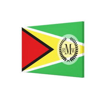 Guyana Flag Canvas Print