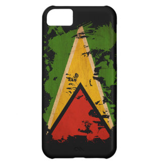 Guyana Flag Case For iPhone 5C