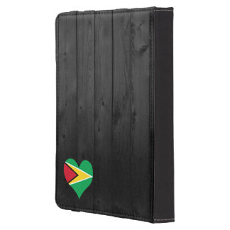 Guyana flag colored kindle touch cover