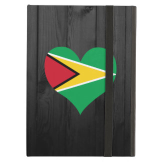 Guyana flag colored case for iPad air