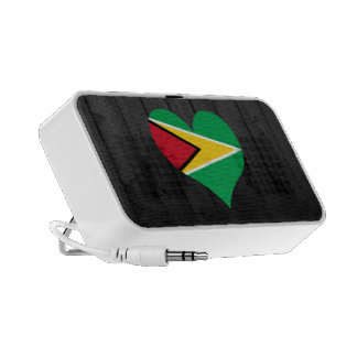 Guyana flag colored iPod speaker