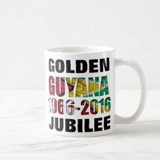Guyana Flag Golden Jubilee Celebration Mug