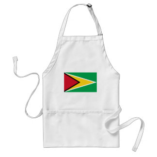 Guyana Flag GY Adult Apron