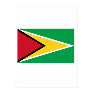 Guyana Flag GY Postcard