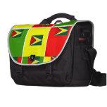 Guyana flag laptop computer bag
