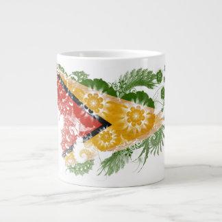 Guyana Flag Large Coffee Mug