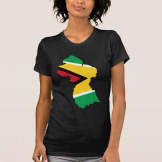 Guyana Flag Map GY Tees
