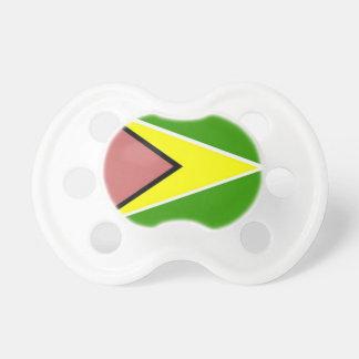 Guyana Flag Baby Pacifiers