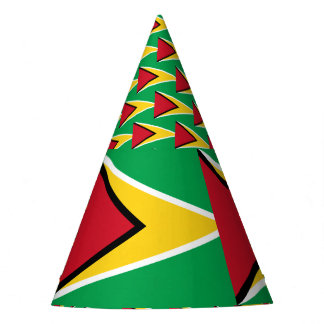 Guyana Flag Party Hat