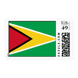 Guyana Flag Postage Stamp