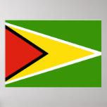 Guyana Flag Print